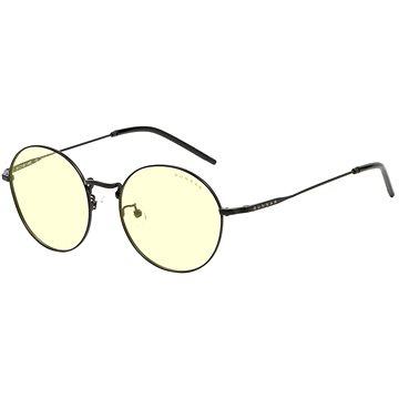 GUNNAR Ellipse Onyx, jantarová skla - Brýle na počítač