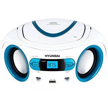 Hyundai TRC 533 AU3WBL bílo-modrý - Radiomagnetofon