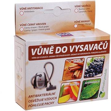 Vůně do vysavače - černý hrozen (5 ks) - svěží vůně černého hroznového vína - Vůně do vysavače