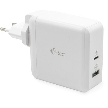 i-tec USB-C Travel Charger 60W + USB-A Port 18W - Nabíječka