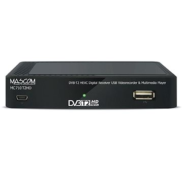 Mascom MC710T2 H.265 HEVC - Set-top box