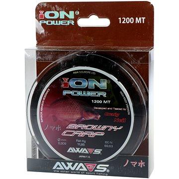 Awa Shima - Vlasec Ion Power Browny Carp 0,309mm 11,95kg 1200m - Vlasec