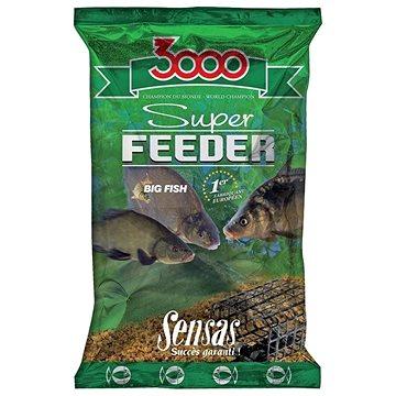 Sensas 3000 Super Feeder Big Fish 1kg - Vnadící směs
