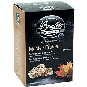 Bradley Smoker - Brikety Javor 120 kusů - Brikety