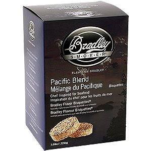 Bradley Smoker - Brikety Pacific Blend 120 kusů - Brikety