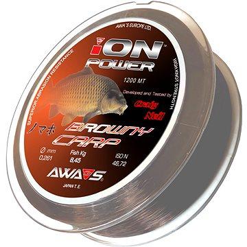 Awa Shima Vlasec Ion Power Browny Carp 0,370mm 1200m - Vlasec