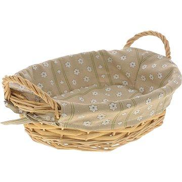 Kesper Košík na chléb oválný s textilní vložkou - Koš