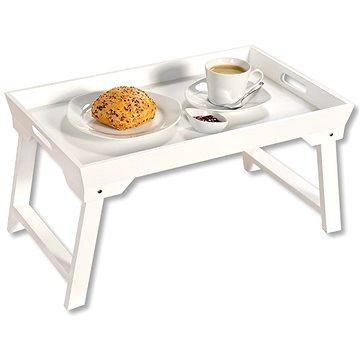 Kesper Servírovací podnos / stolek bílý - Podnos