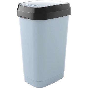 KIS Koš na odpad Dual Swing Bin L - šedý 50l - Odpadkový koš