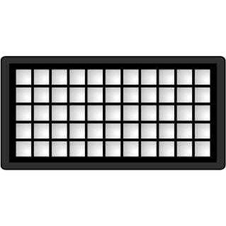 KOMA HFZE2 - HEPA filtr do vysavače Zelmer Meteor - Filtr do vysavače