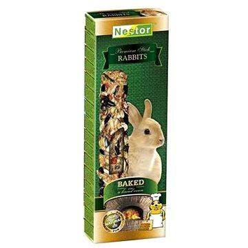 Nestor Premium Sticks tyčinky pro králíčky pečené v chlebové peci 115g 2ks - Pamlsky pro hlodavce