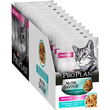 Pro Plan Cat Delicate s mořskými rybami 26 × 85 g - Kapsička pro kočky
