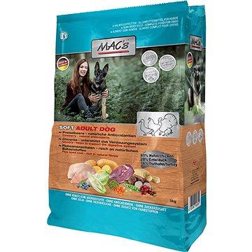 MAC's Dog Soft GRAIN FREE Kuře, Kachna a Krůta 15kg - Granule pro psy