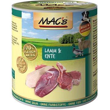 MAC's Dog Jehně a Kachna 400g - Konzerva pro psy