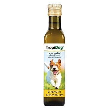 TropiDog Řepkový olej pro psy 250 ml - Doplněk stravy pro psy