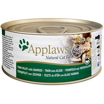 Applaws konzerva Cat tuňák a mořské řasy 70 g - Konzerva pro kočky