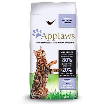 Applaws granule Cat Adult kuře s kachnou 2 kg - Granule pro kočky