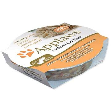 Applaws miska Cat Pot kuřecí prsa a kachna 60 g - Kapsička pro kočky