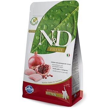 N&D PRIME cat kitten chicken & pomegranate 5 kg - Granule pro koťata