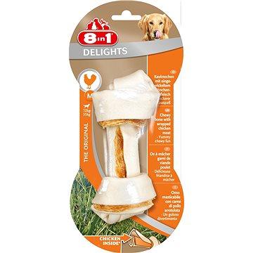Kost žvýkací Delights M 1ks - Kost pro psy