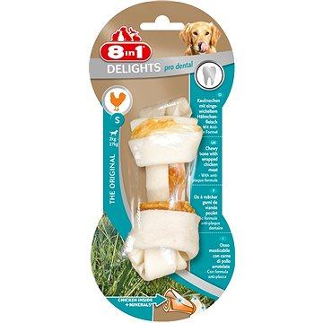 Kost žvýkací s minerály Dental Delights S 1ks - Kost pro psy