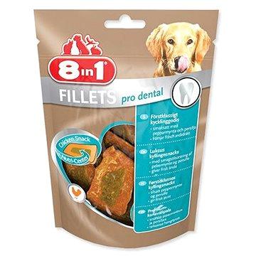 Pochoutka 8in1 Fillets pro dental S 80g (svěží dech) - Pamlsky pro psy