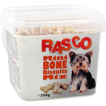 RASCO Sušenky Rasco mikro kost mix 2cm 350g - Pamlsky pro psy