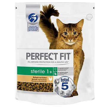 Perfect Fit granule Sterile s kuřecím masem 750 g - Granule pro kočky