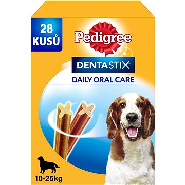 Pedigree Dentastix Daily Oral Care dentální pamlsky pro psy středních plemen 28 ks 720 g - Pamlsky pro psy