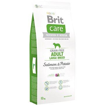 Brit Care grain-free adult large breed salmon & potato 12kg - Granule pro psy
