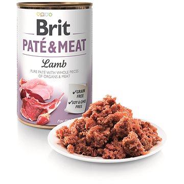 Brit Paté & Meat Lamb 400 g  - Konzerva pro psy