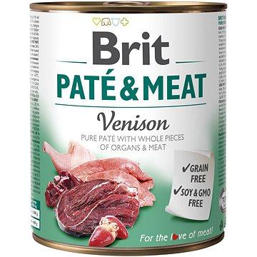 Brit Paté & Meat Venison 800 g - Konzerva pro psy