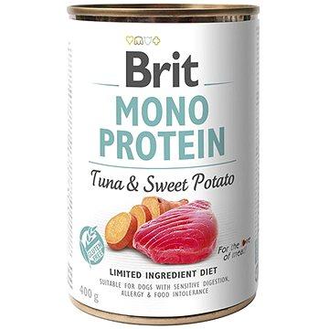 Brit Mono Protein tuna & sweet potato 400 g  - Konzerva pro psy