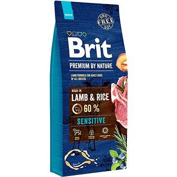 Brit Premium by Nature Sensitive Lamb  15 kg - Granule pro psy