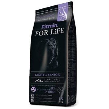 Fitmin dog For Life Light & Senior - 15 kg - Granule pro psy