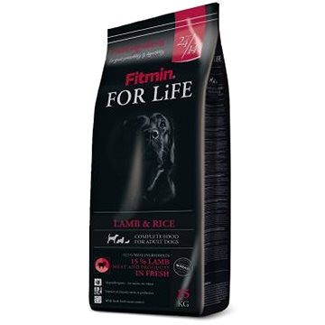 Fitmin dog For Life Lamb & Rice - 15 kg - Granule pro psy