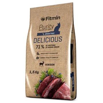 Fitmin cat Purity Delicious - 1,5 kg - Granule pro kočky