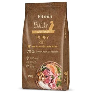 Fitmin dog Purity Rice Puppy Lamb&Salmon - 2 kg - Granule pro štěňata