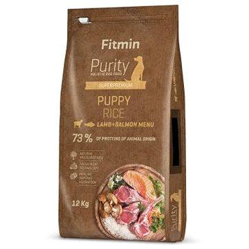 Fitmin dog Purity Rice Puppy Lamb&Salmon - 12 kg - Granule pro štěňata