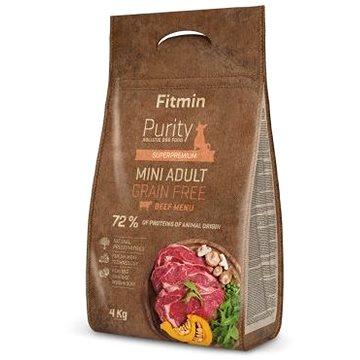 Fitmin dog Purity GF Adult Mini Beef - 4 kg - Granule pro psy