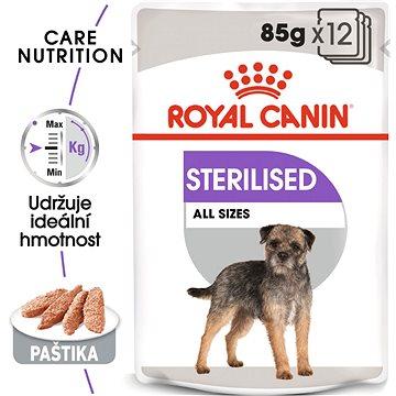 Royal Canin Sterilised Care Dog Loaf 12 × 85 g - Kapsička pro psy