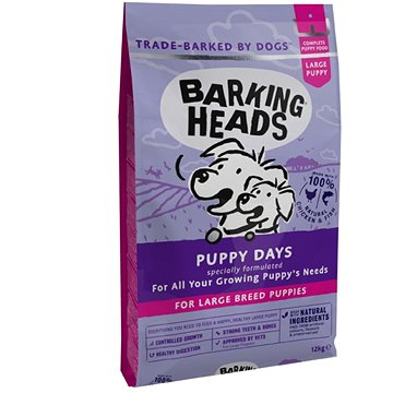 Barking Heads Puppy Days (Large Breed)12kg - Granule pro štěňata