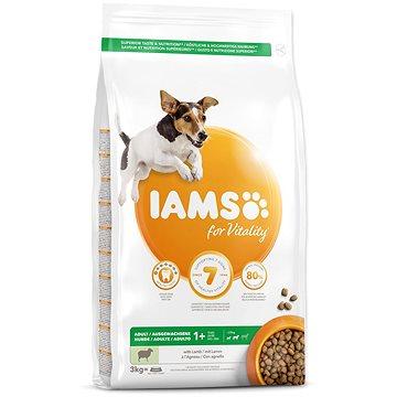 IAMS Dog Adult Small & Medium Lamb 3kg - Granule pro psy