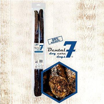 Dental DOG Care 7 days - Hovězí klobása 55 cm pr.3 cm 2 ks - Pamlsky pro psy