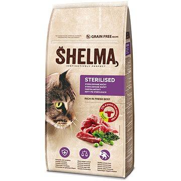 Shelma granule FM kočka sterilní hovězí 8 kg - Granule pro kočky