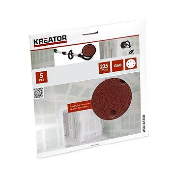 Kreator KRT232004, 225mm - Brusný papír