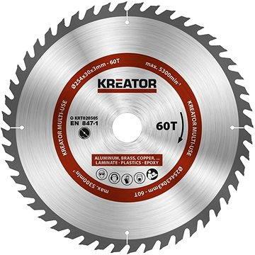 Kreator KRT020505, 254mm - Pilový kotouč univerzální