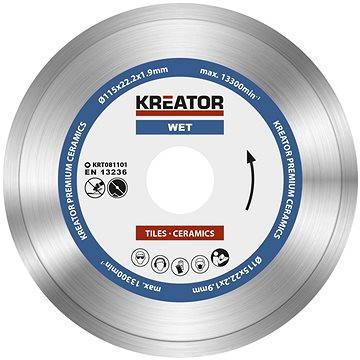Kreator KRT081101, 115mm - Diamantový kotouč