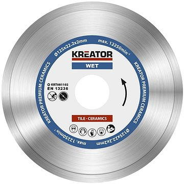 Kreator KRT081102, 125mm - Diamantový kotouč