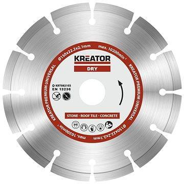 Kreator KRT082103, 150mm - Diamantový kotouč